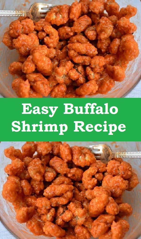 Easy Buffalo Shrimp Recipe