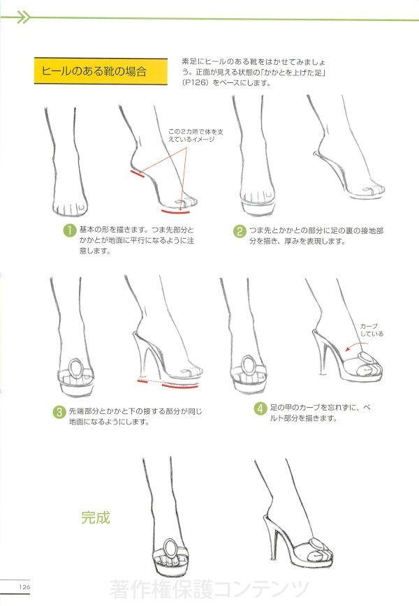 手足の描き方 マスターガイド