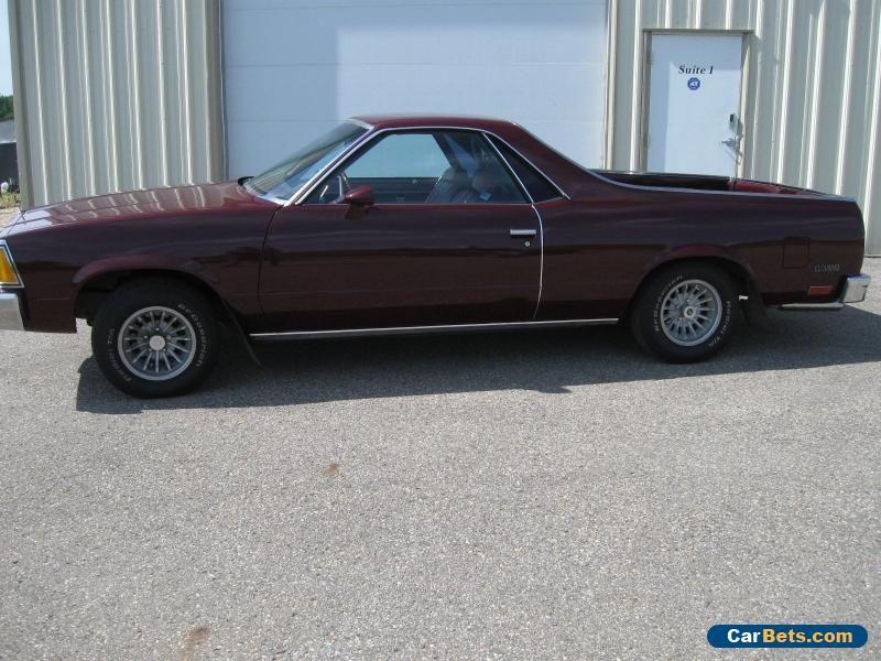 Car For Sale 1981 Chevrolet El Camino