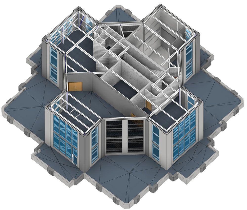 Revit Modeling Samples Bim Architectural Structural