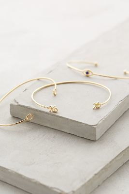Anthropologie Cantora Bracelet Set, xo xo - so cute!! #anthrofave
