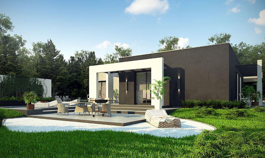 Modelos de casas modernas de una sola planta remo for Casa de una sola planta planos