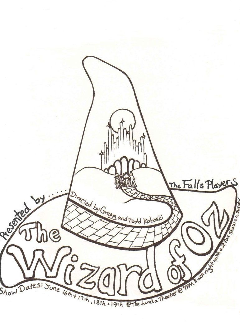 a isforafrowizard of oz coloring pages free coloring pages pictures imagixs