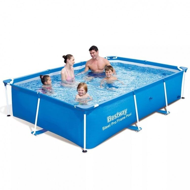 Pro Rectangular Swimming Pool Garden Patio Outdoor Durable Steel Frame Stable Uk Ebay Amazon Sale Children Swimming Pool Kid Pool Swimming Pool Water