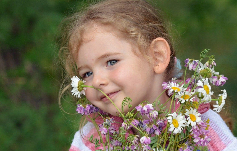 Обои настроение, Девочка, цветок. Настроения foto 11