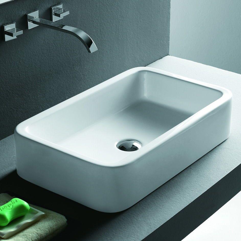 Lux-aqua design waschbecken Waschtisch handwaschbecken Aufsatzbecken ...