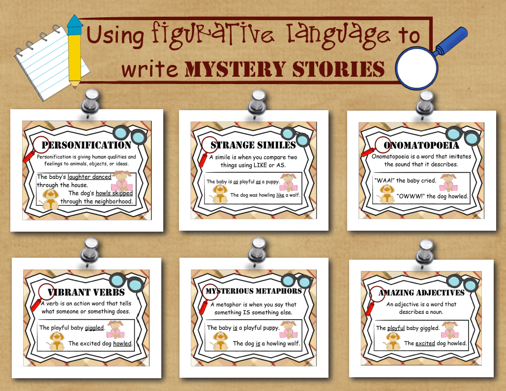 Mystery Writing A Fictional Narrative Unit Of Study