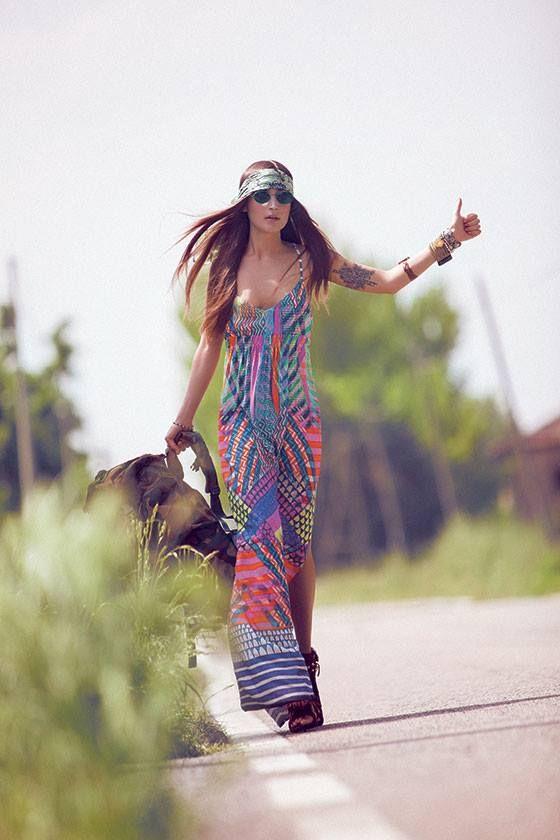 Moda hippie etnica buscar con google hipis - Moda boho chic ...