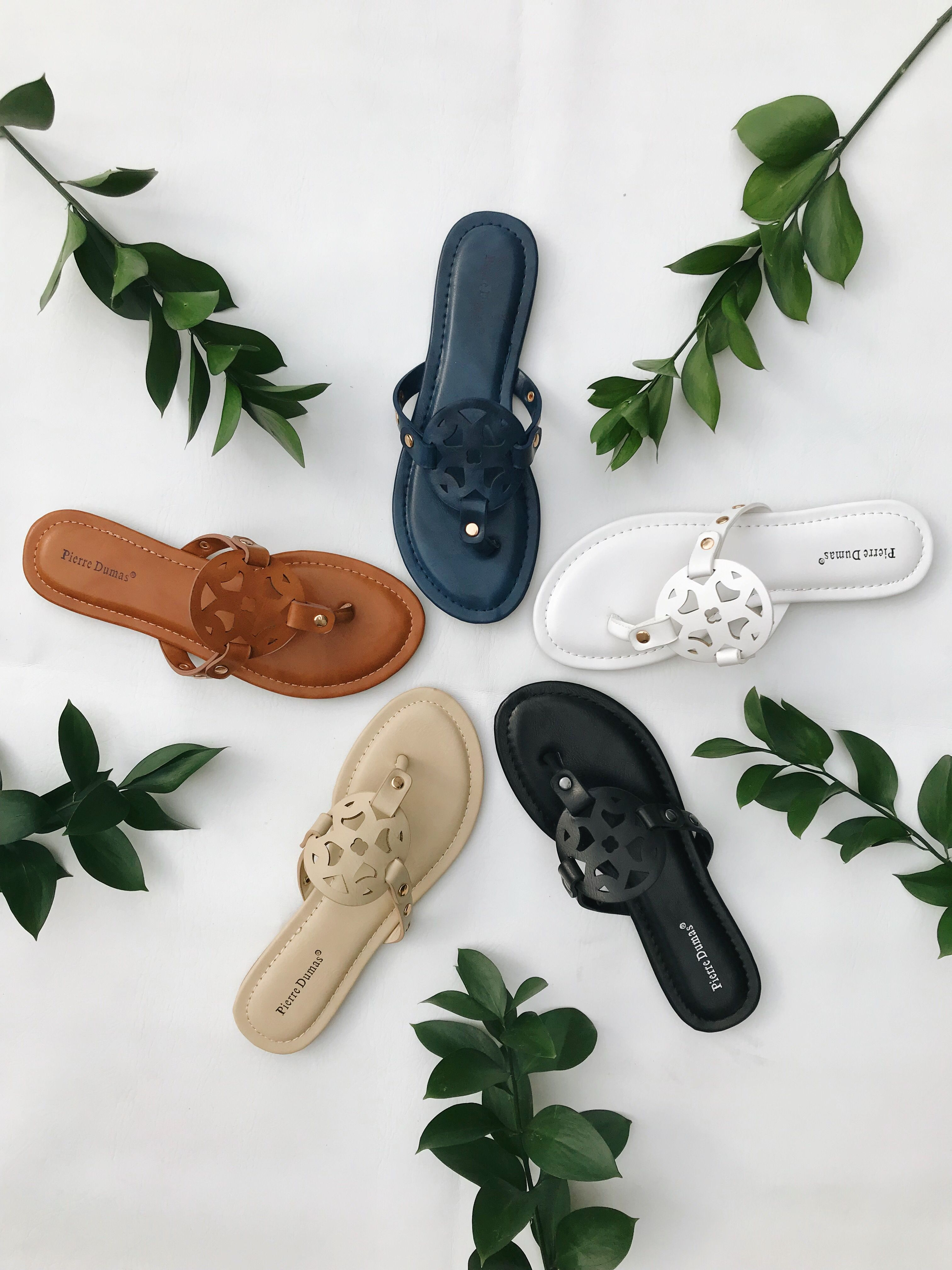 ca2eb710da9 Slip into spring with this elegantly crafted sandal.  sandals  flipflop   toryburch  toryburchsandals  spring  springshoes  summer  womensfashion   outfit ...