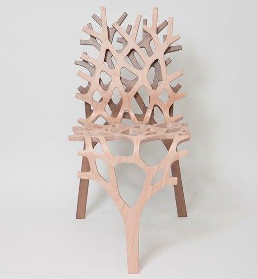 lucien pellat-finet × Kengo Kuma: Wooden Chair Collection