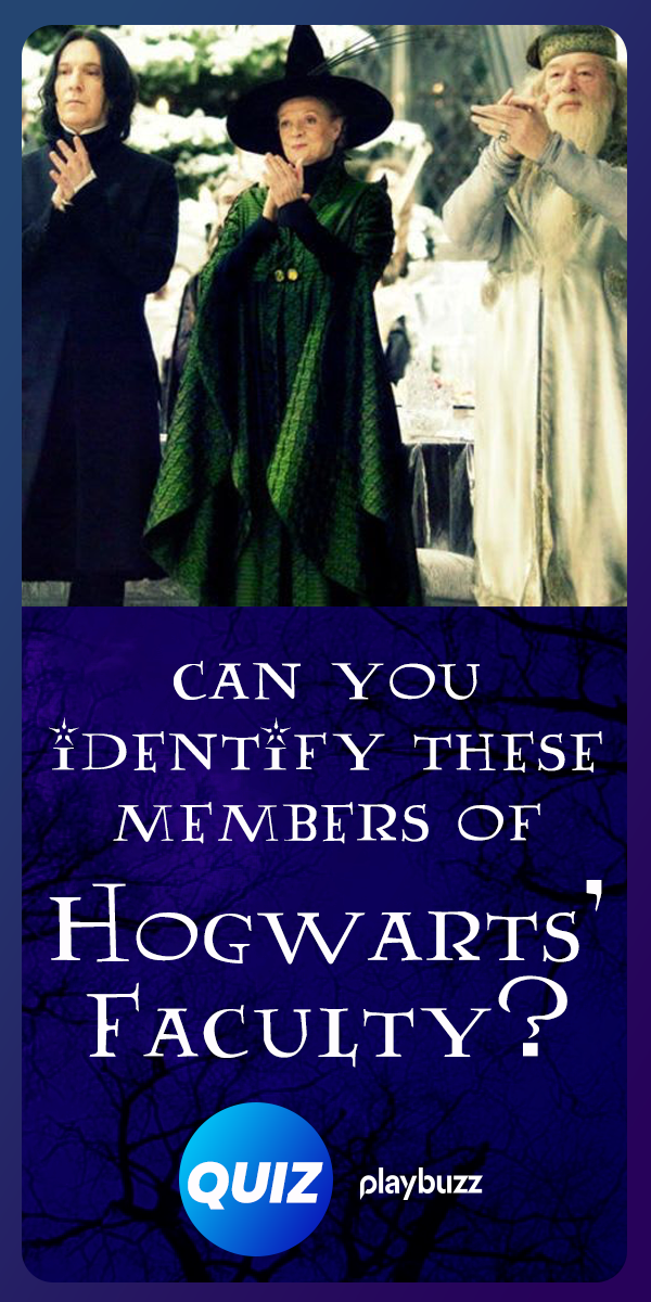 Can You Identify These Members of Hogwarts\u0027 Faculty