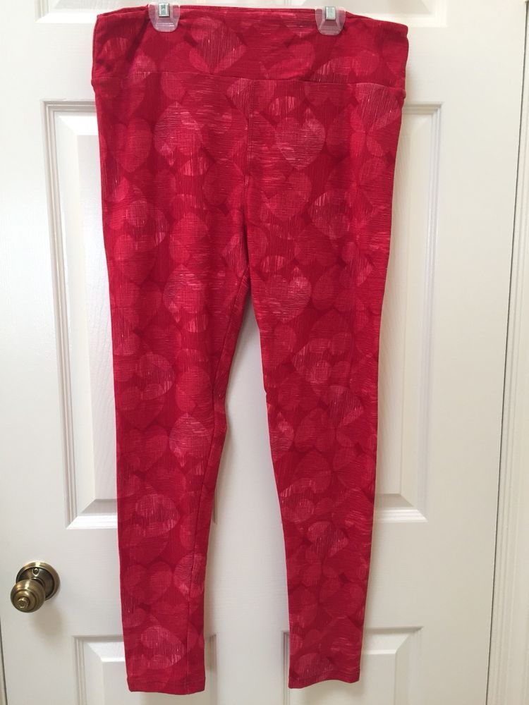 e2166fbeb3552d Lularoe Womens Tall And Curvy Heart Pants Valentines Day #fashion #clothing  #shoes #accessories #womensclothing #leggings (ebay link)