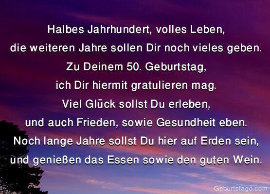 Halbes Jahrhundert Volles Leben 50 Geburtstag 50geburtstag