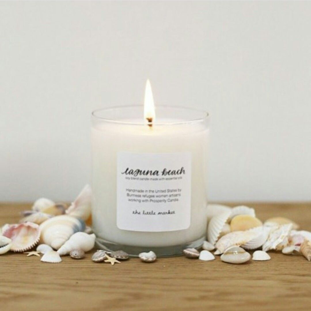 Laguna Beach candle by The Little Market
