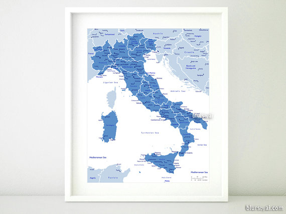 current turnaround for custom items please see policies tab or printable map of italy italy map with by blursbyaishop gumiabroncs Images