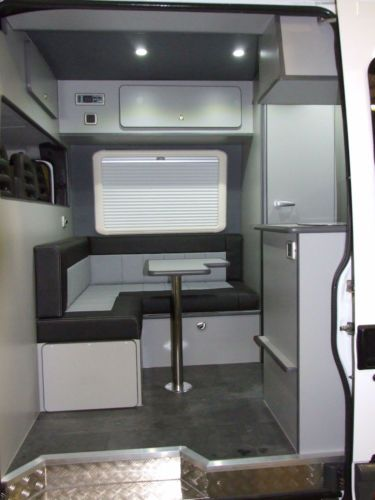 DAY VAN CONVERSION MOTOCROSS MX MOTORHOME RACEVAN SPRINTER