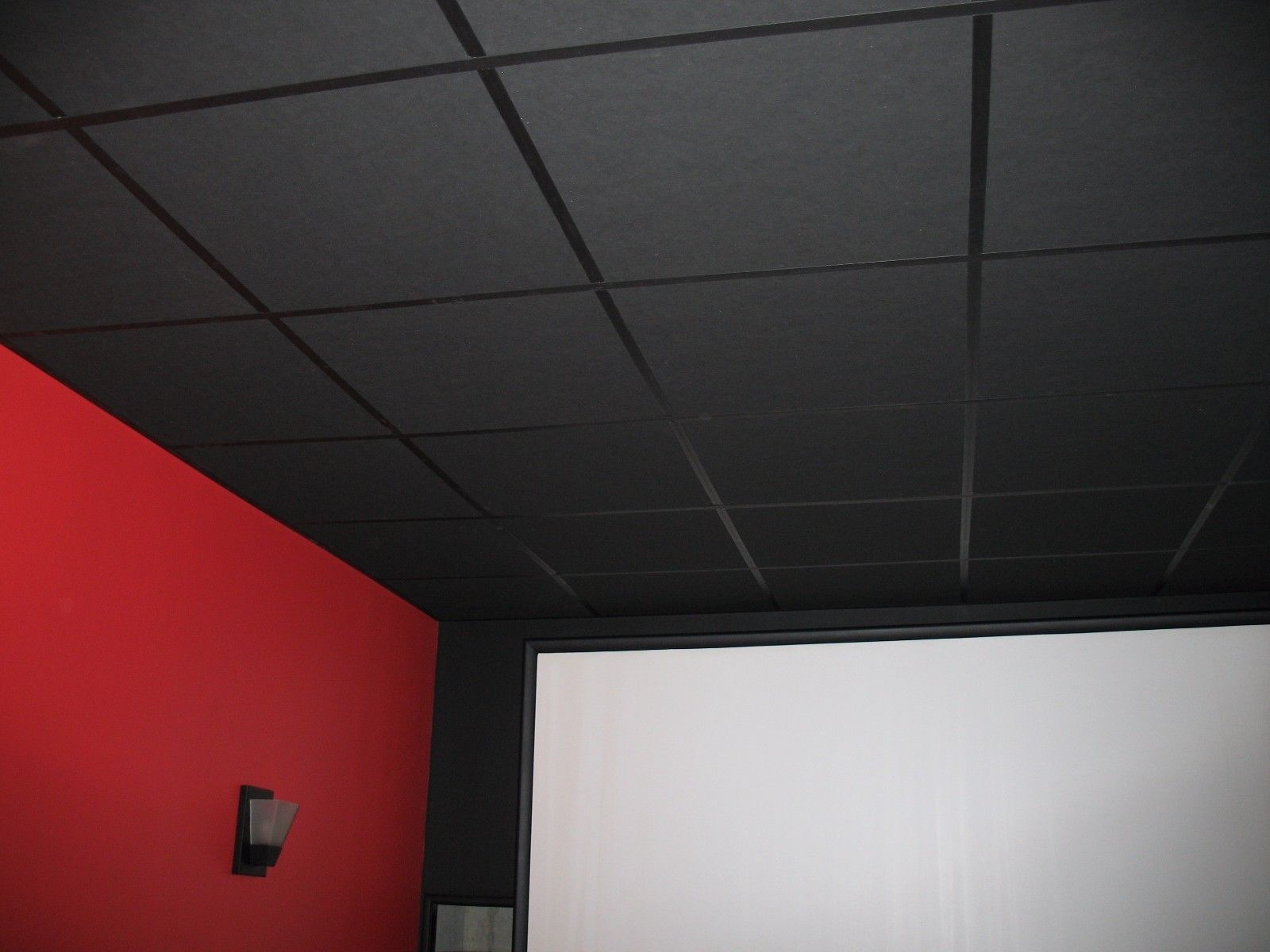 Home Improvement In 2020 Drop Ceiling Tiles Dropped Ceiling Acoustic Ceiling Tiles