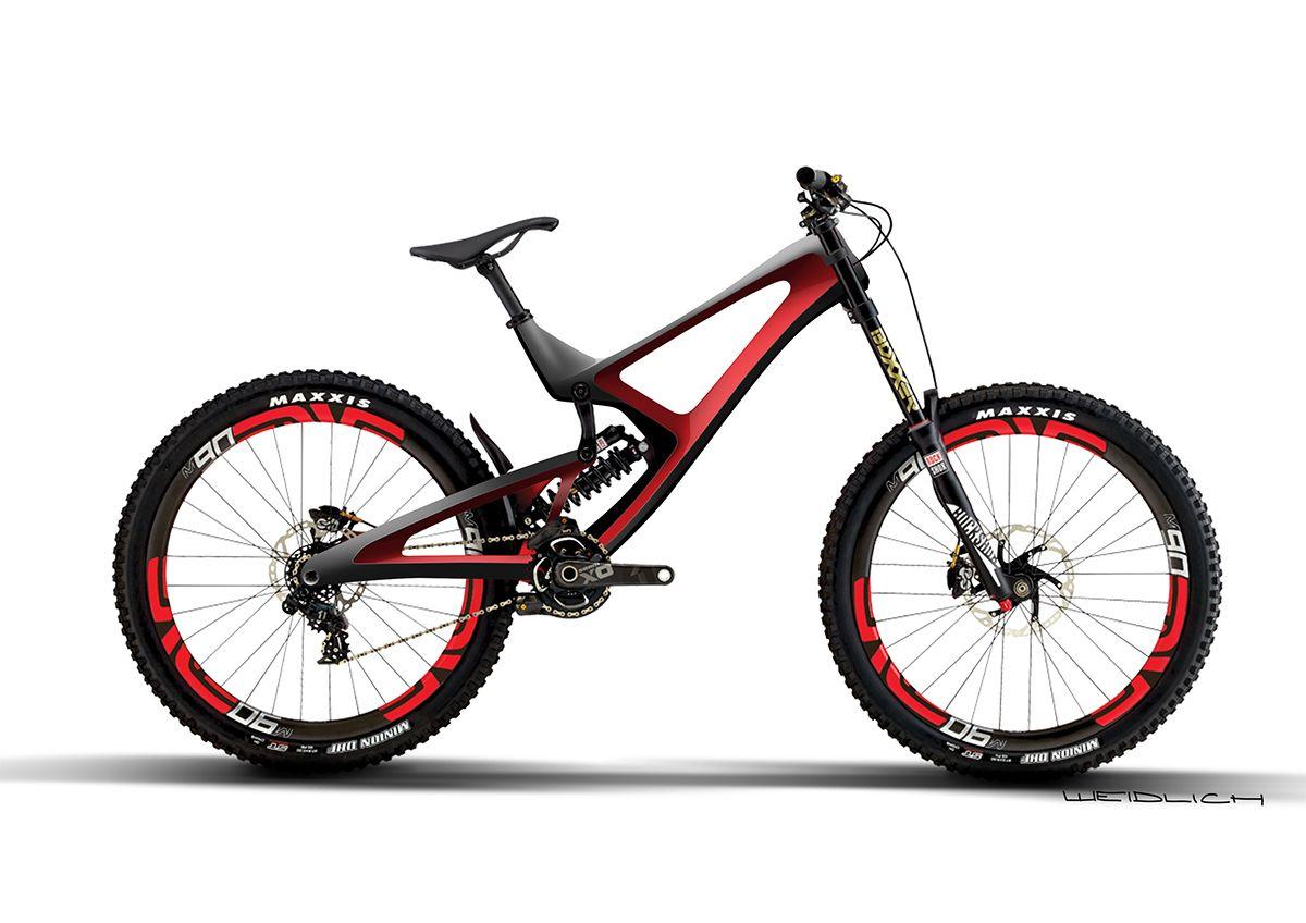 Intense M16 Redesign On Behance Best Mountain Bikes Downhill