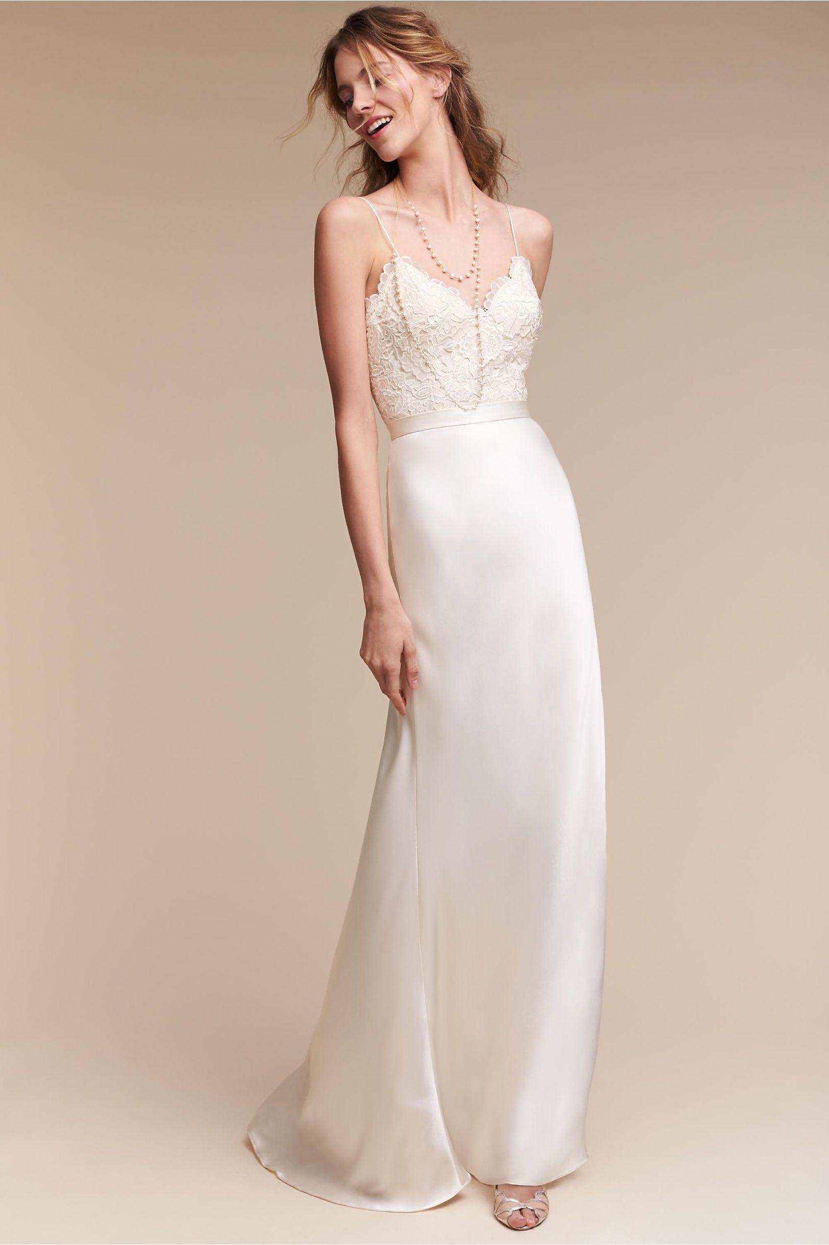 Catherine Deane Havana Corset Top Bhldn Wedding Dress Wedding