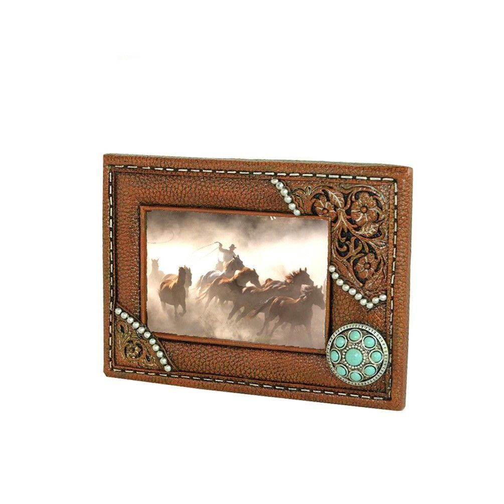 Brown and turquoise concho picture frame products pinterest brown and turquoise concho picture frame jeuxipadfo Gallery