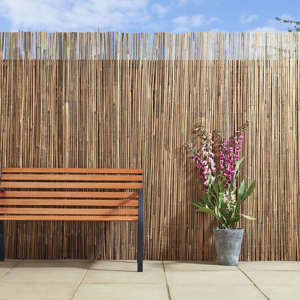 Wilko Screening Bamboo Slat 4mX2m Garden Pinterest