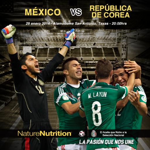 ¡Disfruta el primer partido del año de la Selección Nacional de México!