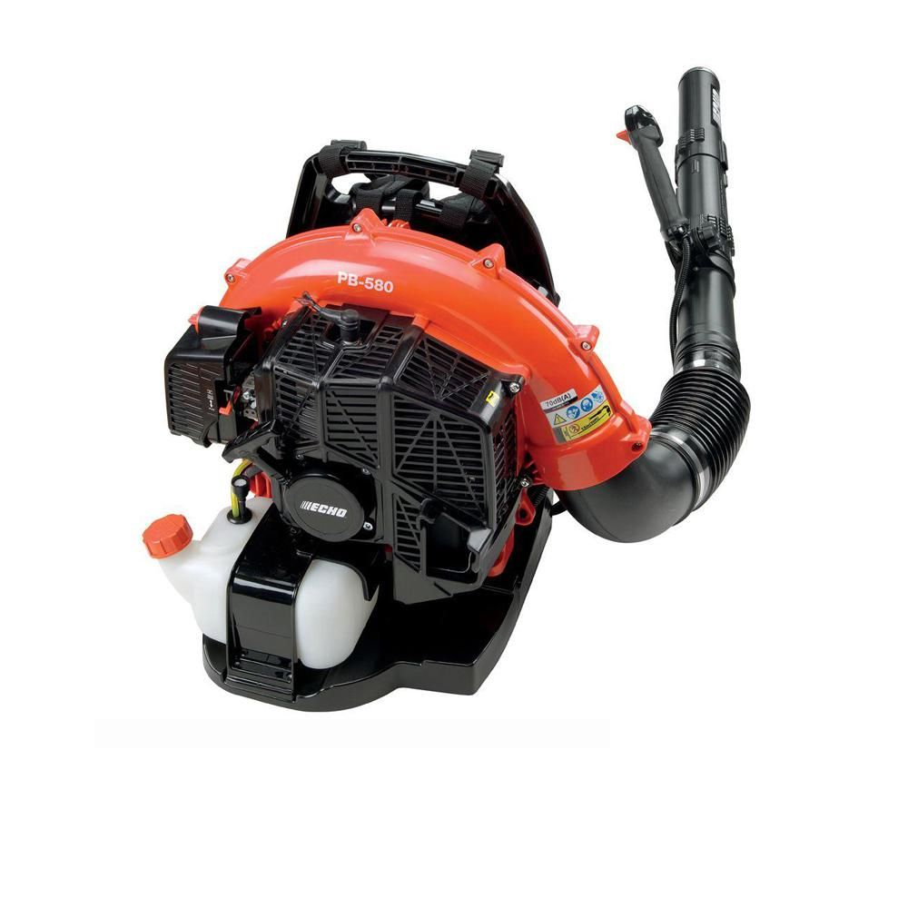 Echo 216 Mph 517 Cfm 58 2cc Gas 2 Stroke Cycle Backpack Leaf Blower With Tube Throttle In 2020 Leaf Blower Cycling Backpack Backpacks