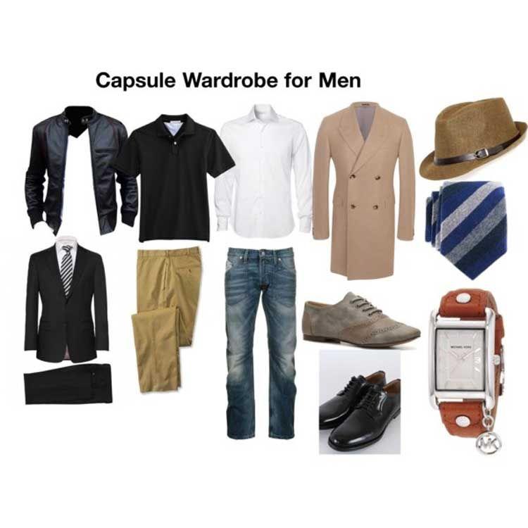 Мужской гардероб из чего должен состоять фото