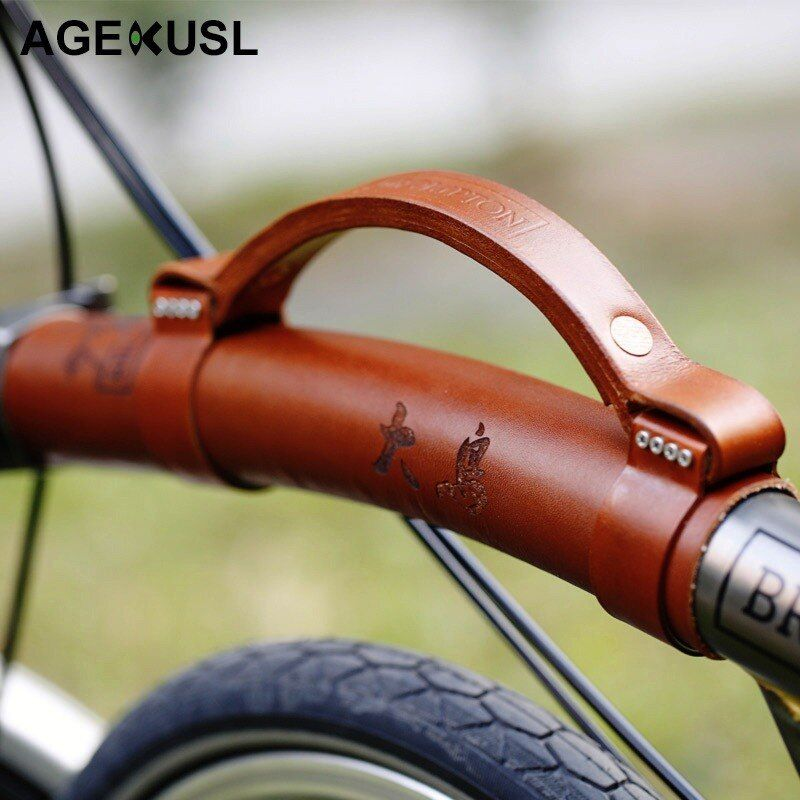 Customized Upgraded Leather Carry Bike Bicycle Tape Strap Mention