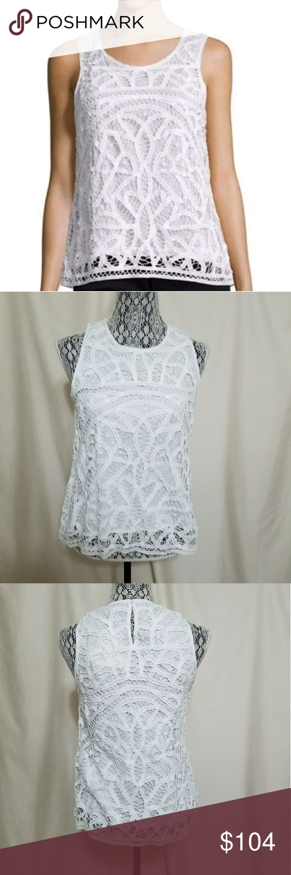 """Joie white cotton Blouse NWT. MSRP 248 USD. Size M. Made it 100%cotton. Bust 20.5"""" . Length 24"""". Tops Blouses"""