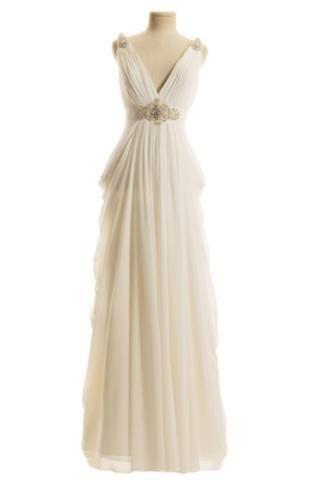grecian wedding dress grecian cocktail dress
