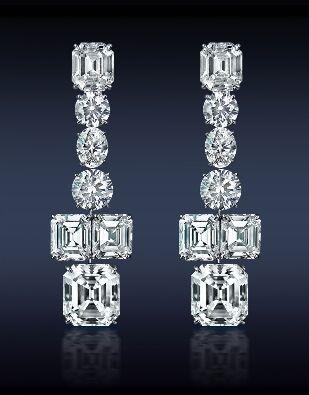 Spectacular Diamond Earrings.