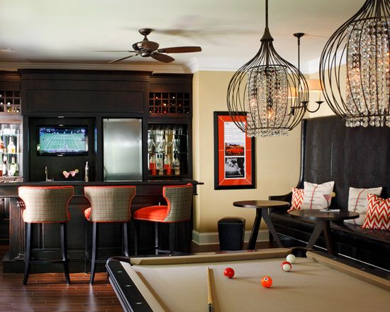 Create Your Own Pub Bar With Excellent Irish Pub Decorating Style : Bar  Stools And Pool