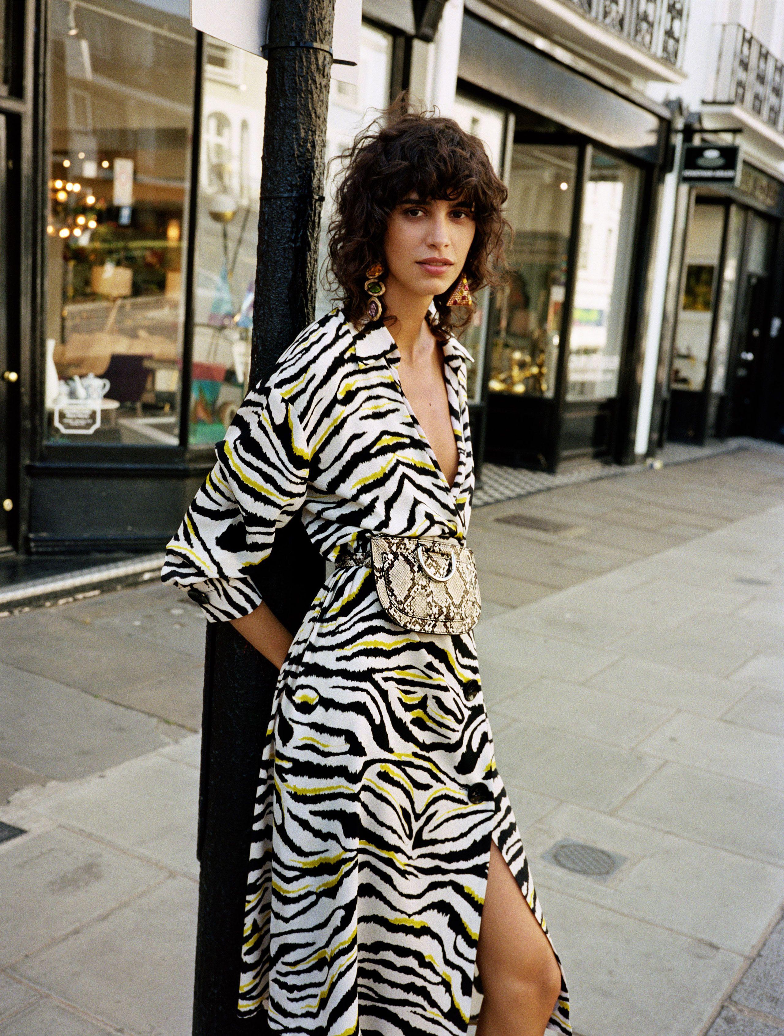 9e83d98a5 ZARA WOMAN | RETRO AESTHETICS | Stylish | Zebra print clothes, Zara ...