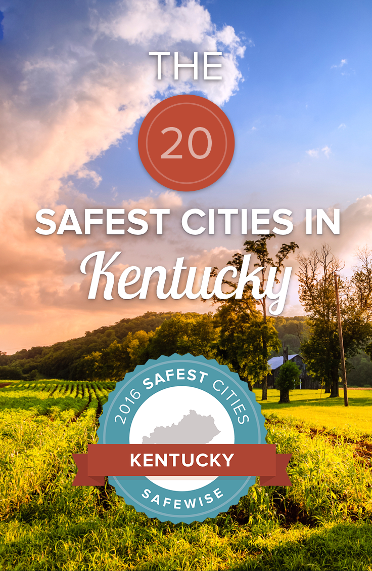 Kentucky's violent crime rate is 44% lower than the national average, but which cities are the safest? Click below to read our new report for 2016! #Kentucky