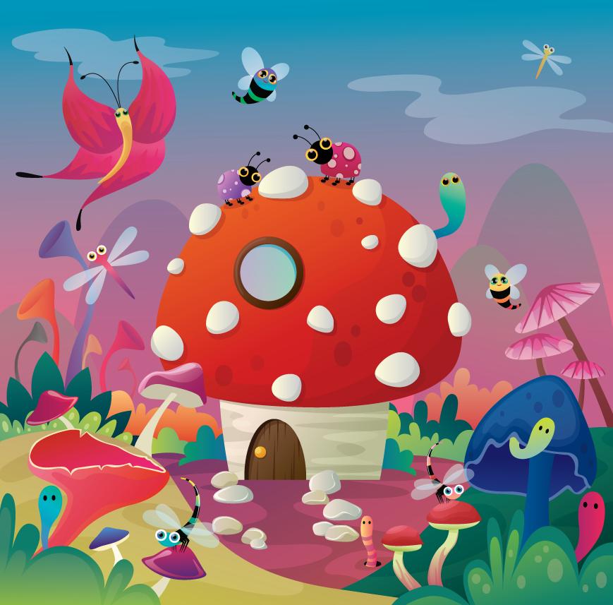 mushroom house by flufflepot deviantart com on deviantart art i