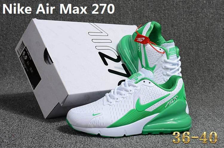 Nike 270 KPU AIR MAX 270 KPU Women White Green 36 40 | Nike