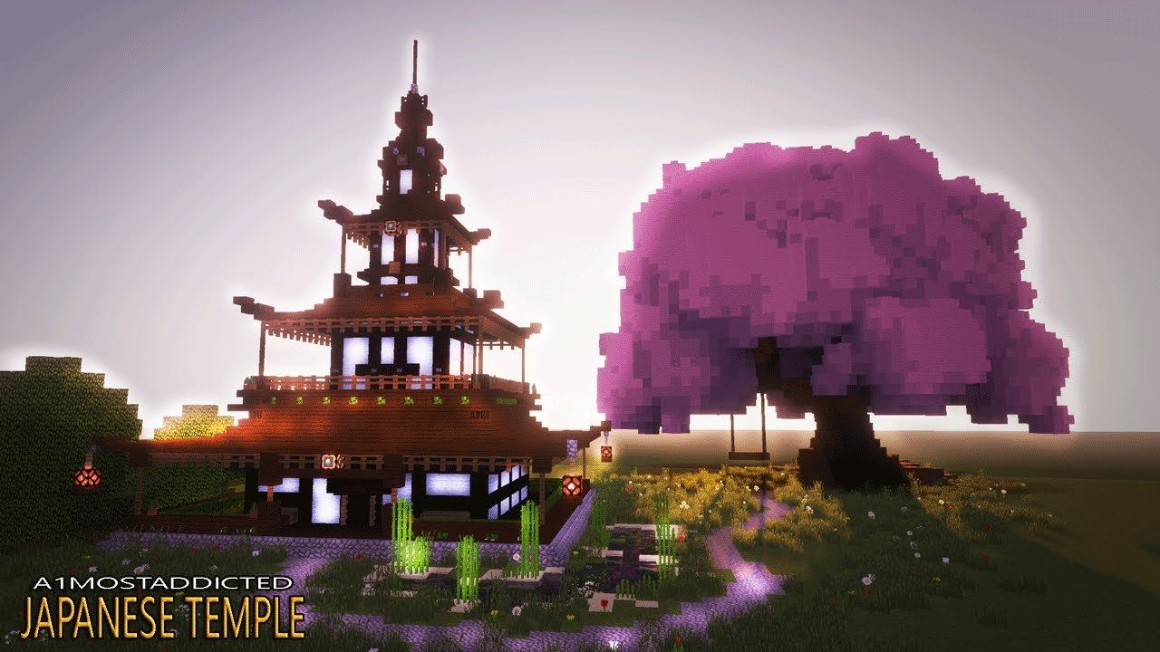 How to make a cool house in minecraft japanese house tutorial how to make a cool house in minecraft japanese house tutorial temple publicscrutiny Gallery