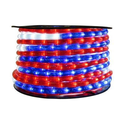Wide loyal led2 1345 rmb tri color 12 in led rope light shop wide loyal tri color led rope light at lowes canada find our selection of rope lighting at the lowest price guaranteed with price match off aloadofball Images