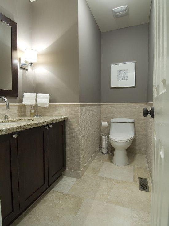Photo of Neutrales, sauberes Badezimmer
