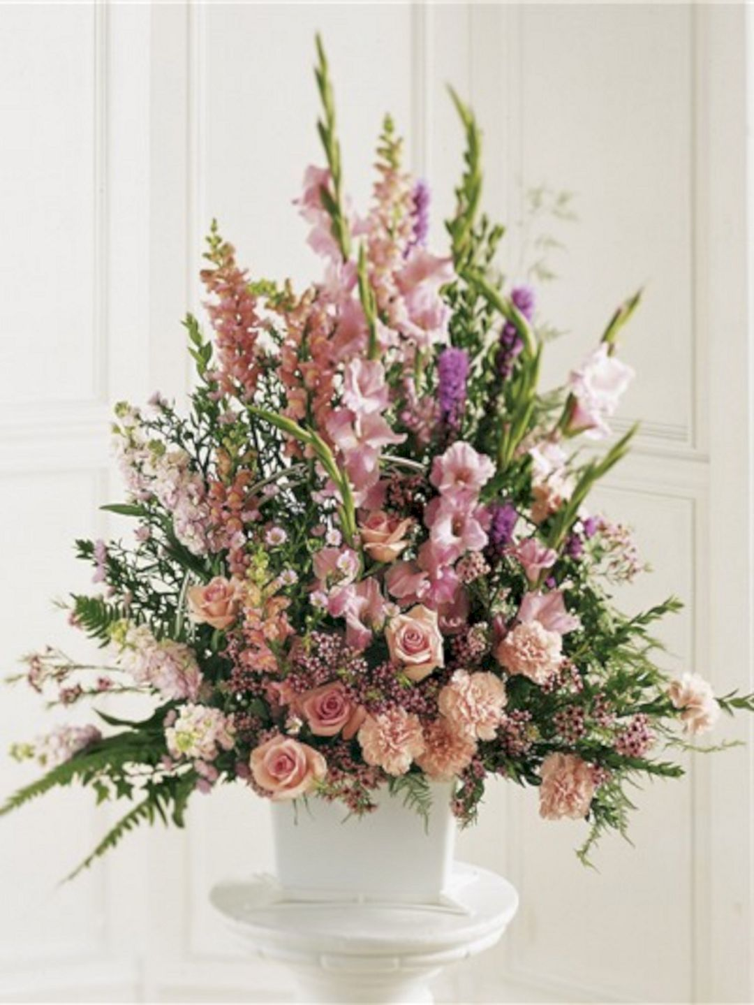 45 beautiful funeral arrangements ideas easy to make it funeral a beautiful sympathy arrangement featuring flowers in many shades of pink can be sent same day flower delivery izmirmasajfo Gallery