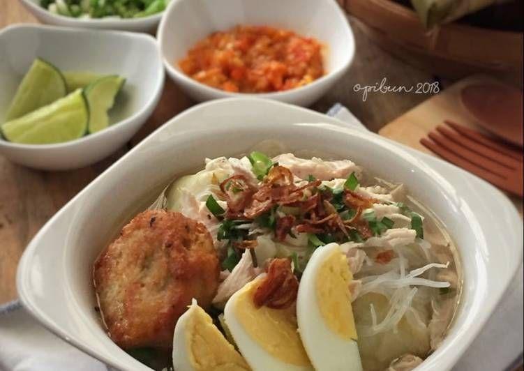 Soto Banjar Ayam Kampung Resep Masakan Masakan Resep