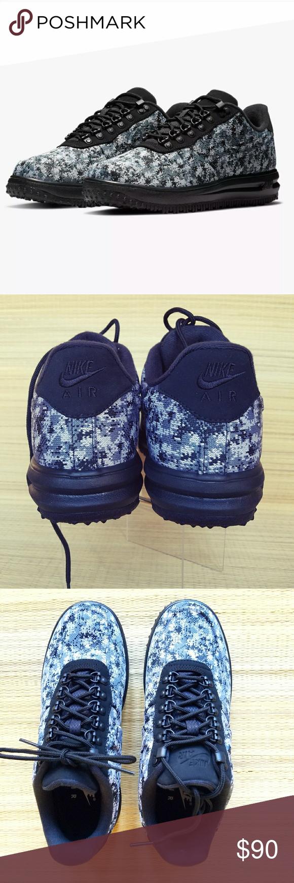 e92650424ad07 Nike LF1 Duckboot Low gray digital textile men's 8 Nike LF1 duckboot low  digital textile camo