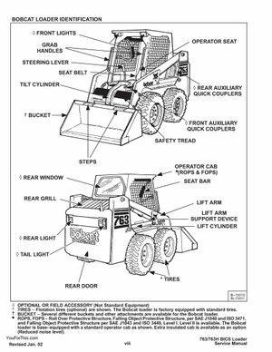 INSTANT DOWNLOAD Bobcat 763 Skid Steer Loader Repair