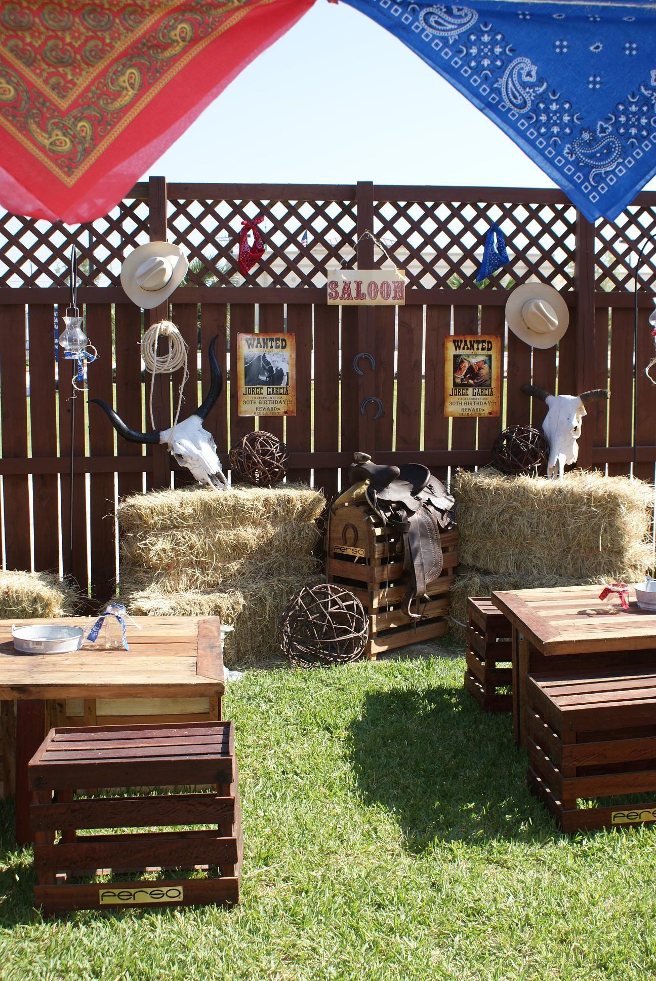f7b65cc9d Ideas decoracion vaquera buscar con google fiesta Fiestas elegantes  decoracion