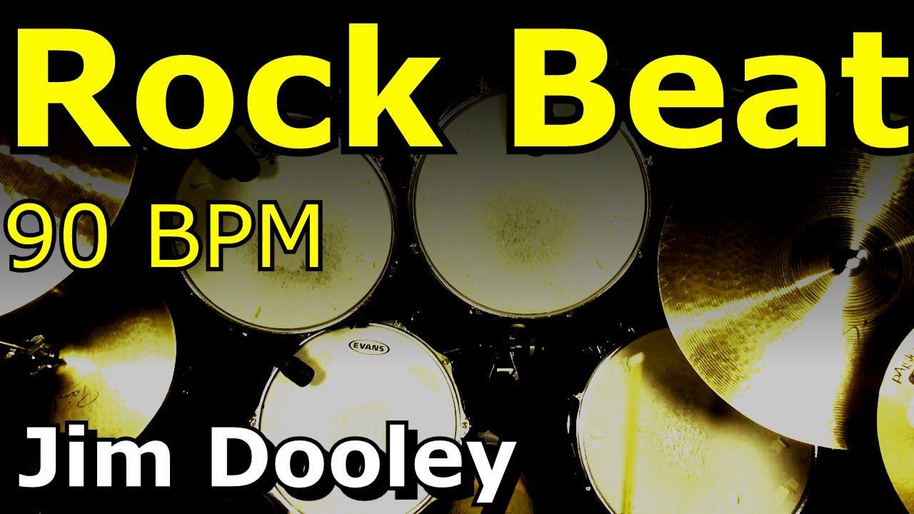 Backing Track Rock Drum Loops 90 BPM