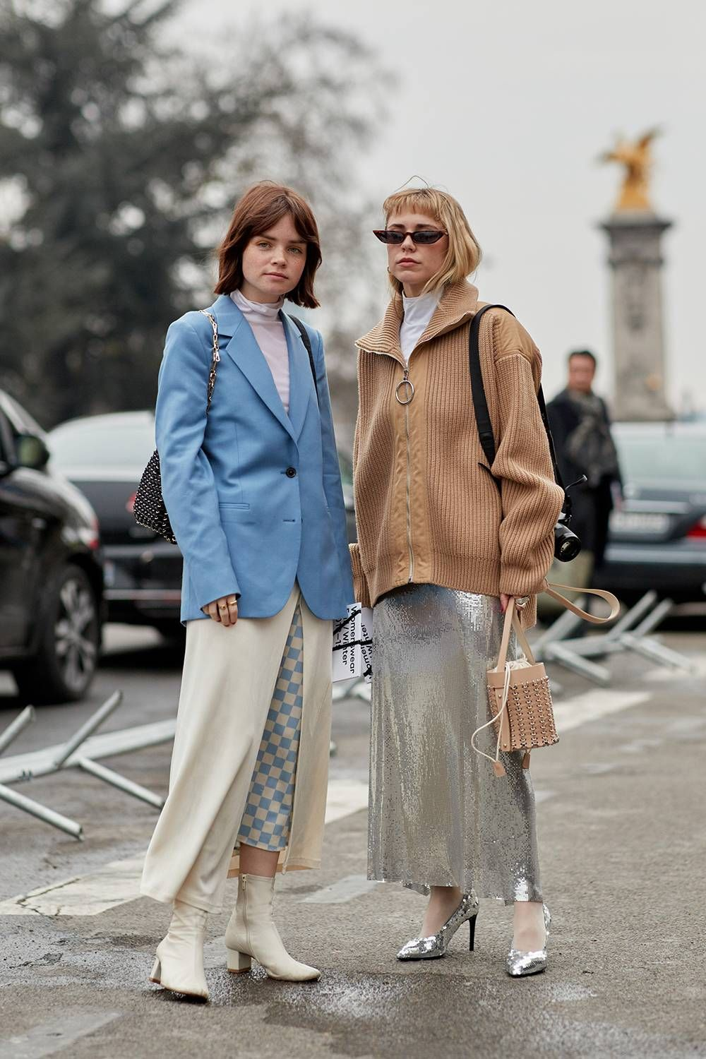 The latest street style from paris fashion week fall fashion