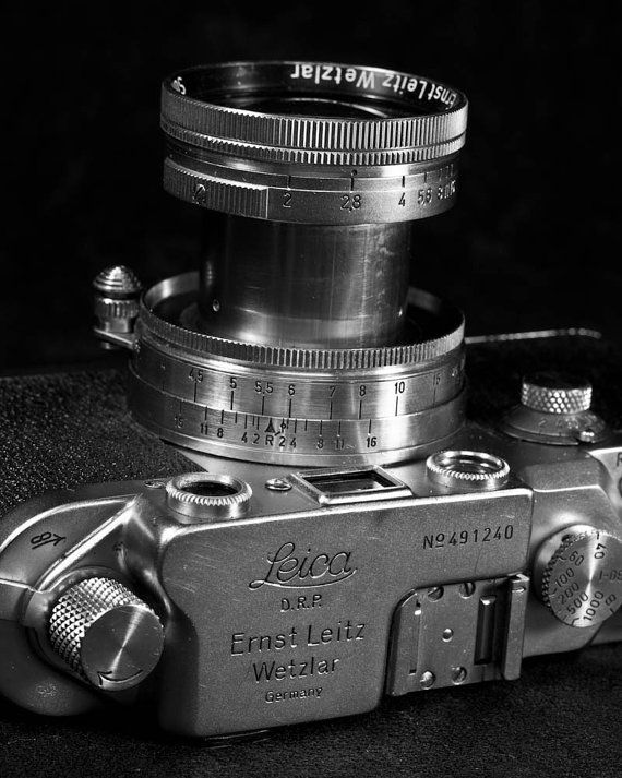 Vintage leica camera fine art black and white by solsticephoto 20 00