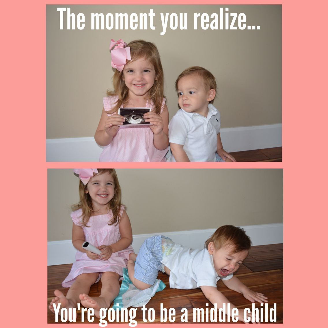 Middle child announcement. 3rd baby :) #middlechildhumor Middle child announcement. 3rd baby :) #middlechildhumor Middle child announcement. 3rd baby :) #middlechildhumor Middle child announcement. 3rd baby :) #middlechildhumor