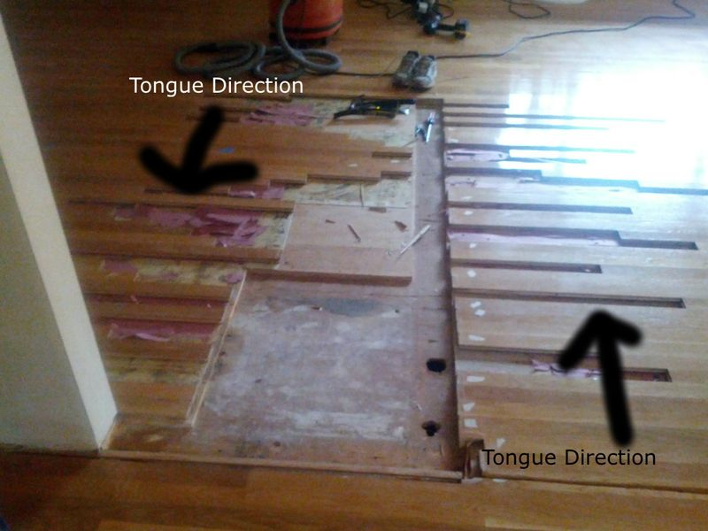 Replacing Wood Floor After Removing A Wall Wood Floors Flooring